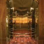 Custom Glass Elevator Cab at Hyatt Regency,
