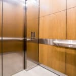 G&R Custom Elevtor Cabs Bloomington Central Station Hotel, Bloomington - EPIC Solution , Lower Stainless Steel Elevator Ceiling