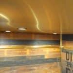 ewly modernized elevator interiors incorporate wall panels