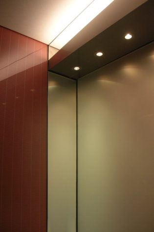 155 N. Wacker   Chicago, IL. © G&R Custom Elevator Cabs, 2352 Station Parkway NW Minneapolis, MN 55304