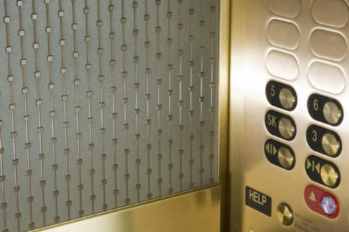 1st National Bank | St. Paul, MN. © G&R Custom Elevator Cabs, 2352 Station Parkway NW Minneapolis, MN 55304