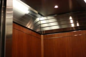 8200 Tower, Minneapolis, MN Custom Elevator Interior G&R Custom Cabs