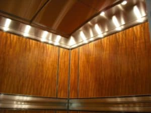 G&R Custom Cabs designed and manufactured four custom elevator cabs for this luxury condominium community.