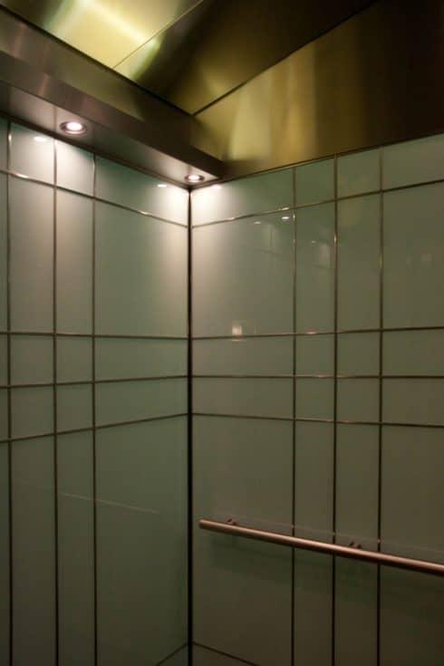 The Millennium Hotel, Mpls, MN. Custom Elevator Cabin