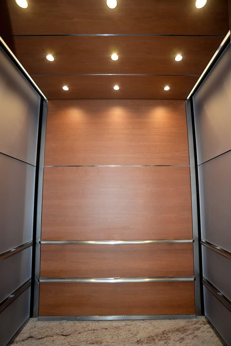 G R Custom Elevator Cabs New Construction Northwestern University