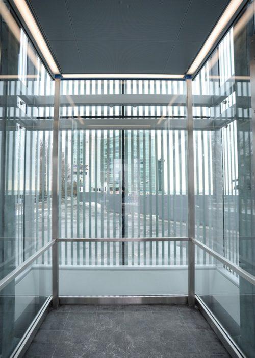 Glass Observation Cab: Navy Pier