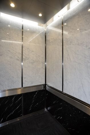 21st Century Bank   Minneapolis, MN. © G&R Custom Elevator Cabs, 2352 Station Parkway NW Minneapolis, MN 55304