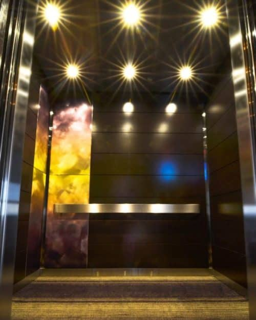 Intercontinental Riverfront Hotel | St. Paul, MN. © G&R Custom Elevator Cabs, 2352 Station Parkway NW Minneapolis, MN 55304