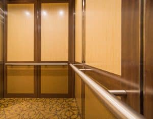 The Designers Guild Building (DGB) Elevator Cab Interior Modernization with EPIC Solution