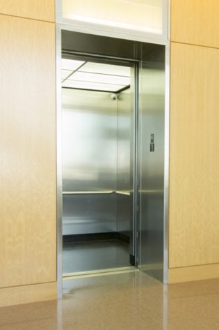 William Eckhardt Research Facility Custom Elevator Ceiling