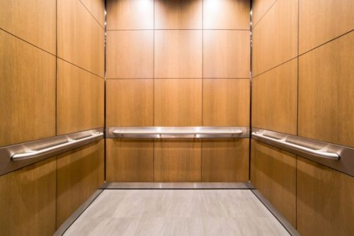 An EPIC Solution elevator cabin interior system allows for any decorative material, metal finish, and component to be paired with any wall panel design.