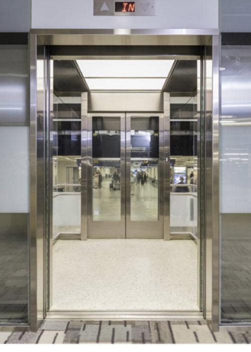 Glass Observation Cab: MSP Airport Vertical Improvement LTEL 18, 20, 22