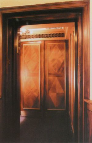 """The owner of this historic 1930's Manhattan style cooperative wanted to retain the """"antique"""" character of the existing elevator while bringing it up to modern standards of performance and code compliance."""