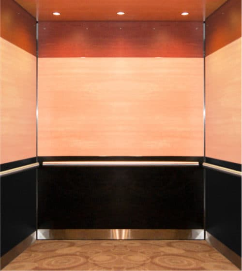 Elevator Cab Modernization Double Tree Hotel | St. Paul,, MN. © G&R Custom Elevator Cabs, 2352 Station Parkway NW Minneapolis, MN 55304