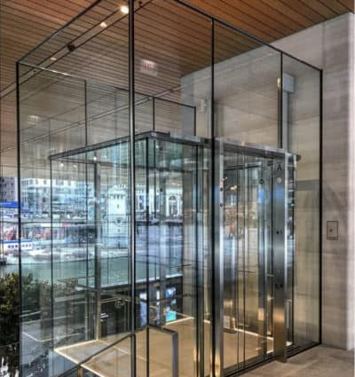Apple Store | Chicago, IL. © G&R Custom Elevator Cabs, 2352 Station Parkway NW Minneapolis, MN 55304.