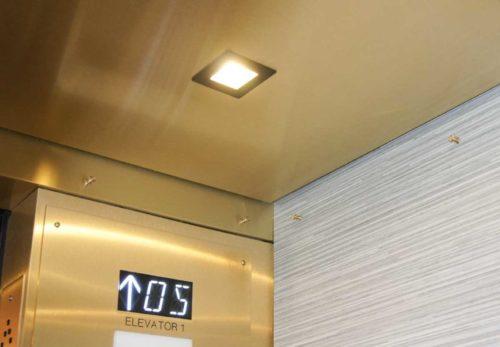 Elevator Cab Modernization Oak Grove Towers | Minneapolis, MN. © G&R Custom Elevator Cabs, 2352 Station Parkway NW Minneapolis, MN 55304