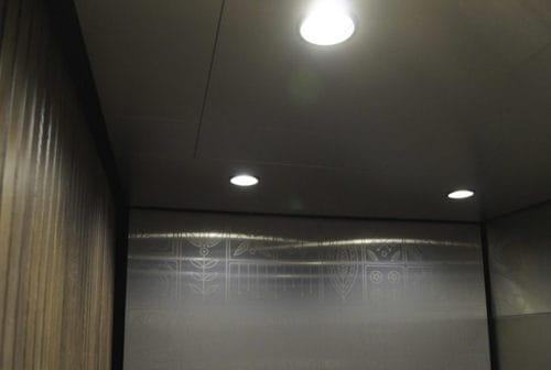 Elevator Cab Modernization Thresher Building-Canopy Hotel | Minneapolis, MN. © G&R Custom Elevator Cabs, 2352 Station Parkway NW Minneapolis, MN 55304