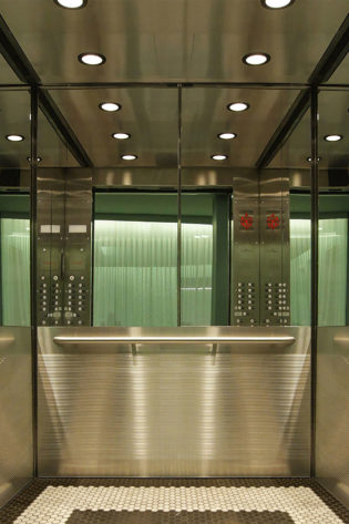 Elevator Cab Modernization Hotel Minneapolis-The Emery Hotel   Minneapolis, MN. © G&R Custom Elevator Cabs, 2352 Station Parkway NW Minneapolis, MN 55304